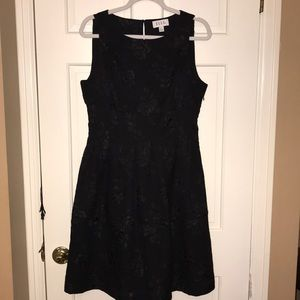⭐️NWOT Elle Black on Black Design Cocktail Dress⭐️